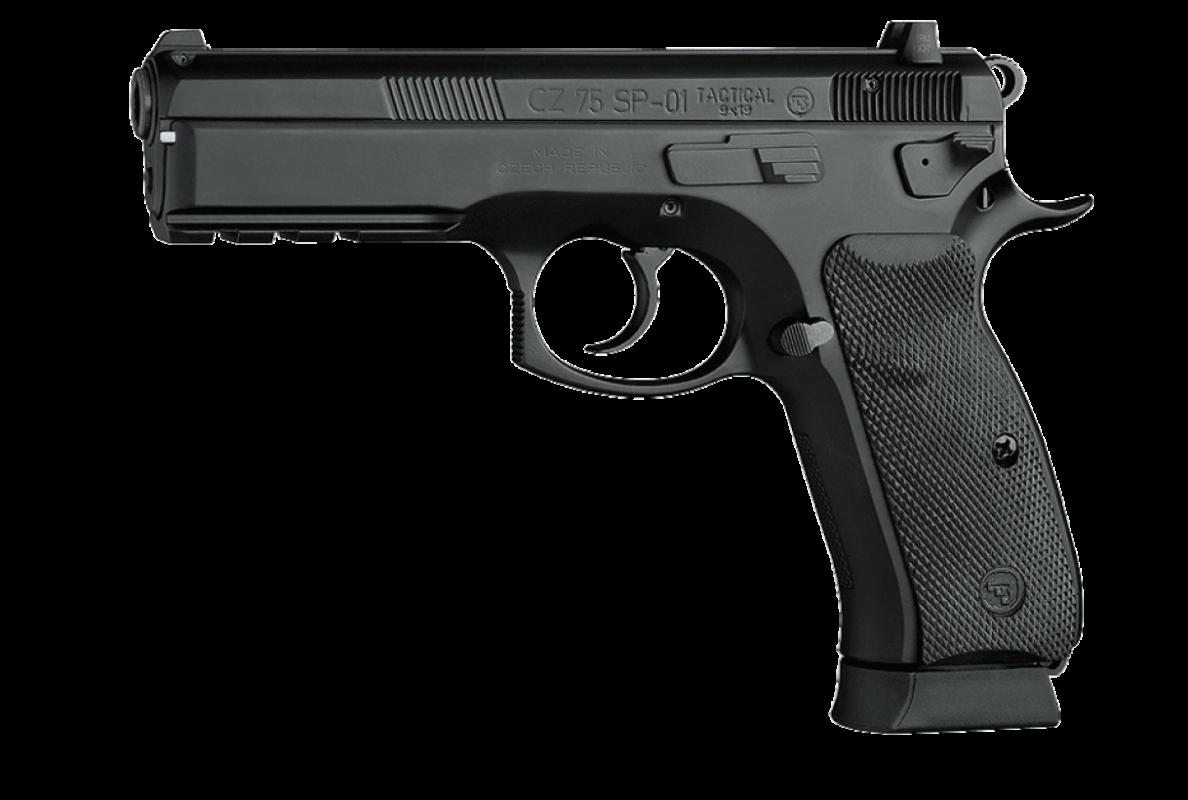 Pistole samonabíjecí CZ 75 SP-01 Tactical