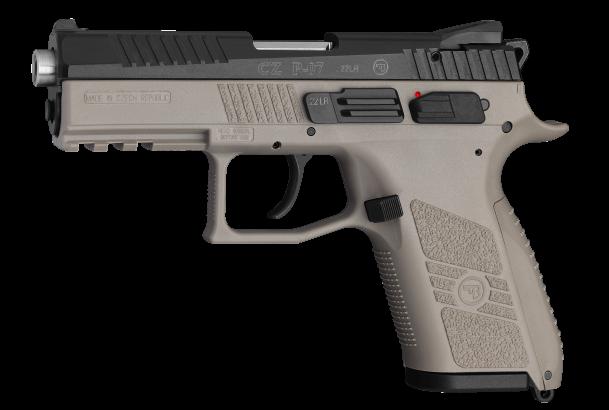 Pistole samonabíjecí CZ P-07 Kadet FDE