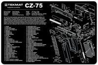 Podložka na čištění - CZ 75
