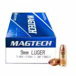 Magtech 9 mm Luger JHP 7,45 g