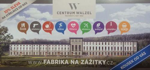 poukaz na střelnici Walzel