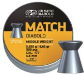 JSB Yellow Match Diabolo Middle Weight 4,51 (500ks)