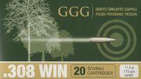 GGG .308 HPBT Sierra MatchKing 175gr