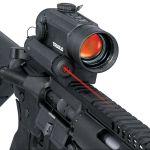 Kolimátor Truglo Red Dot 30mm a červený laser Truglo Tru-Tec