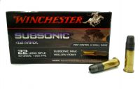 Winchester 22 LR Subsonic Max 42gr