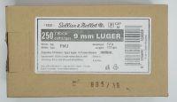 S&B 9 mm Luger FMJ 7,5g (Bull pack 250 ks)
