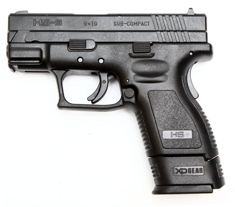 pistole HS9 chorvatsko