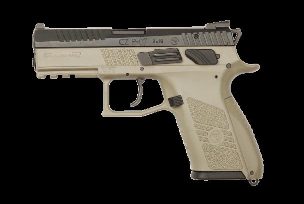 Pistole samonabíjecí CZ P-07 Urban Grey