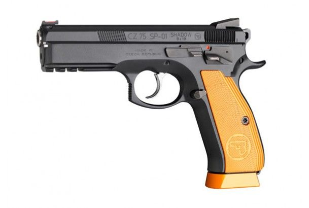 Pistole samonabíjecí CZ 75 SP-01 Shadow Orange