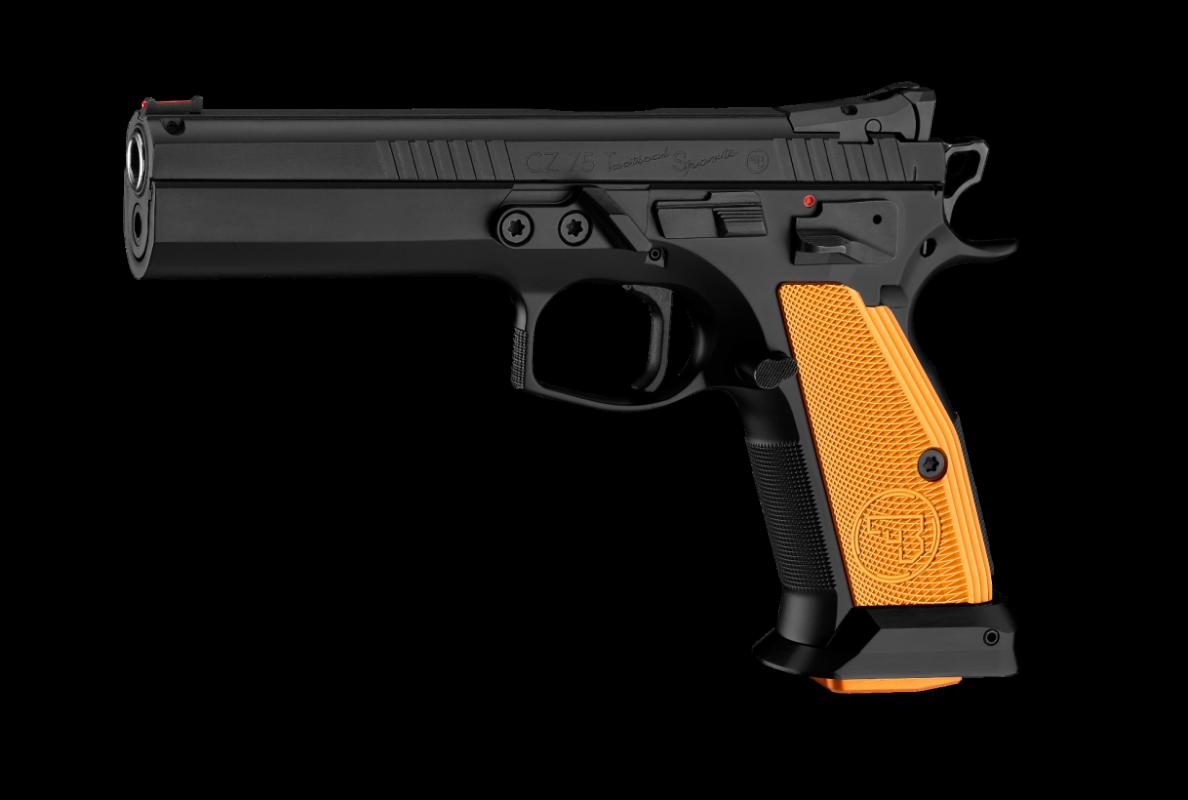 Pistole samonabíjecí CZ TS Orange