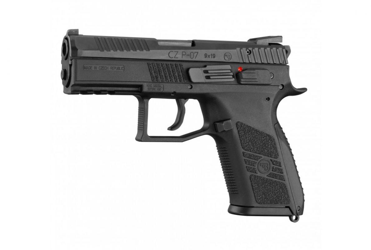 Pistole samonabíjecí CZ P-07 black
