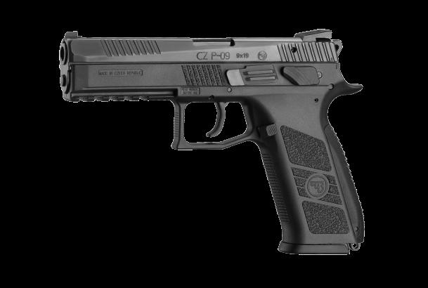 Pistole samonabíjecí CZ P-09 black