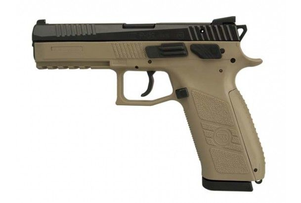 Pistole samonabíjecí CZ P-09 FDE