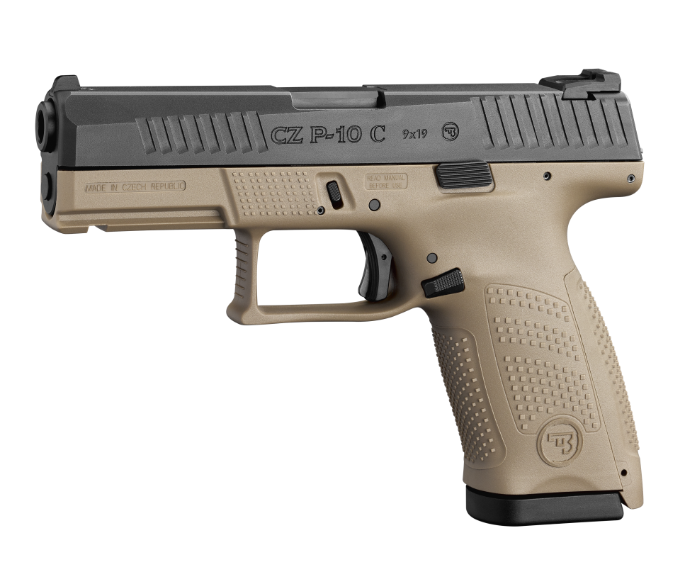 pistole CZ P-10 C  FDE