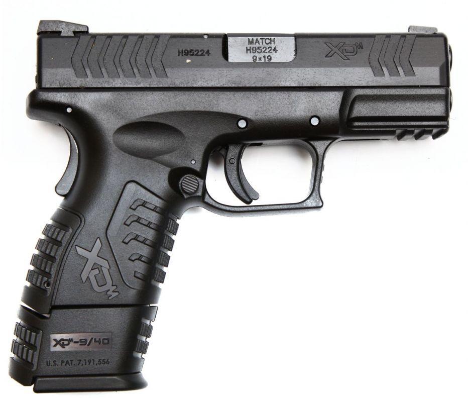 Pistole samonabíjecí XDM 9 compact 3,8″ HS Produkt