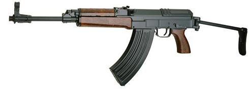 CZ 858 Tactical sklopka