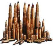 Střelivo, náboje na ZP