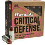 Hornady 9 Luger FTX Critical Defense Lite 6,5 g / 100 grs