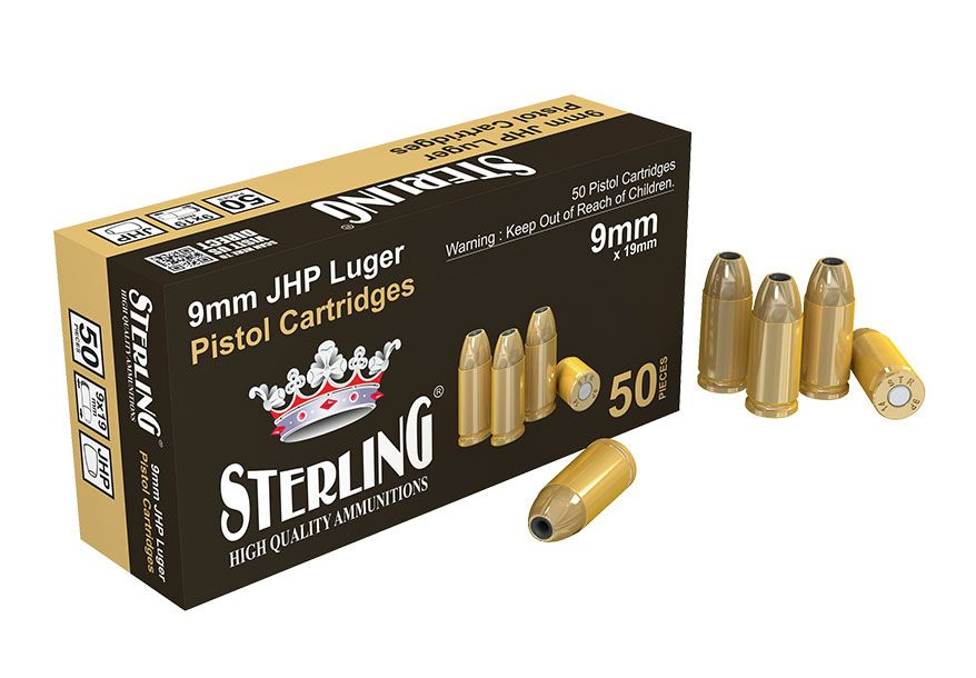 Sterling 9 mm Luger JHP 8,0 g