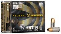 Federal 9 mm Luger HST 8 g / 124 grs