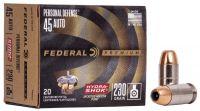 Federal .45 ACP Hydrashok 14,9 g / 230 grs 20 ks