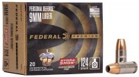 Federal 9 mm Luger Hydrashok 8 g / 124 grs