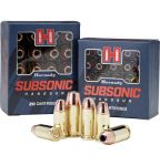 Hornady 9 Luger XTP Subsonic 9,5 g / 147 grs