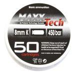 náboje MaxxTech 8 mm PA Blanc