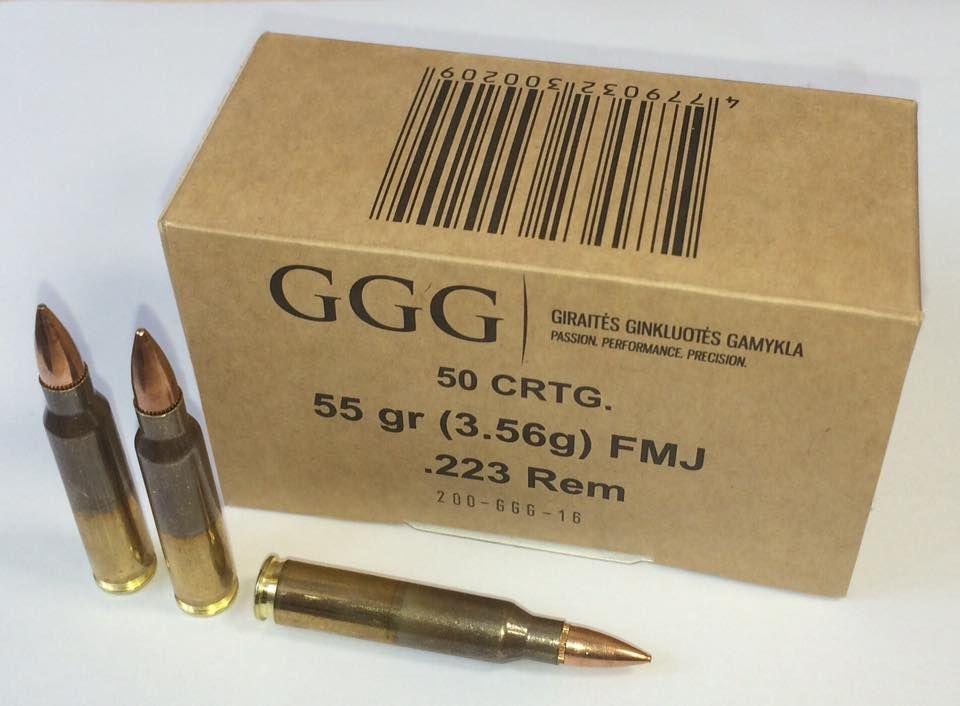 GGG 223 rem. náboje