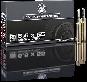 Náboj RWS 6,5x55 EVO 10,1 g