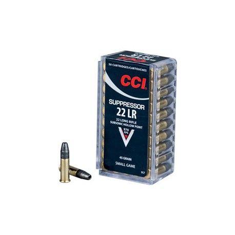 Náboj CCI 22 LR Suppressor