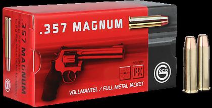 Náboj Geco 357 Magnum FMJ