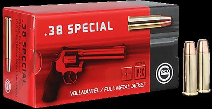 Náboj Geco 38 Special FMJ