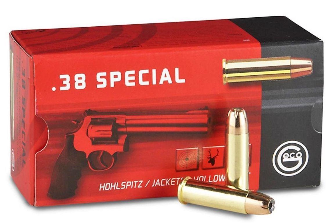 Náboj Geco 38 Special JHP