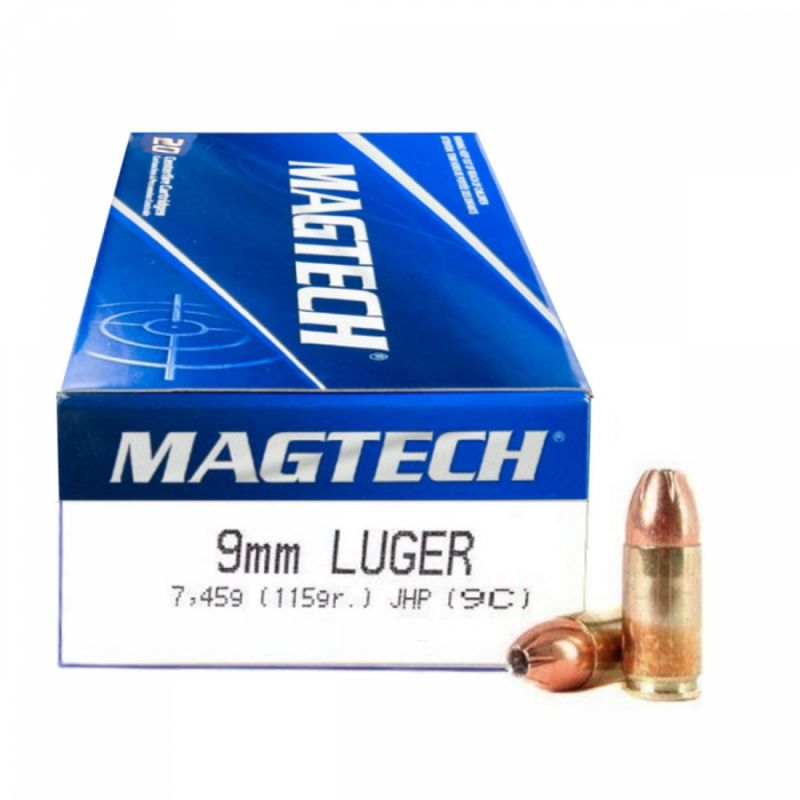 Náboj Magtech 9x19 JHP