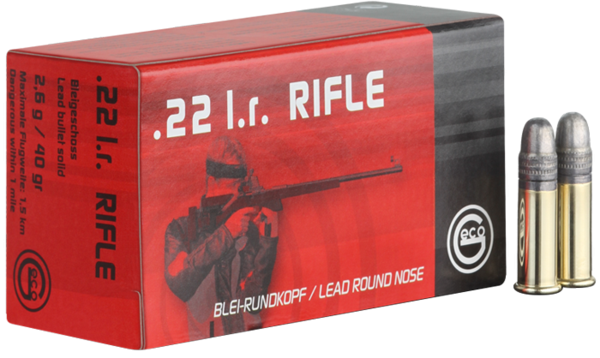 Malorážkový náboj Geco Rifle 22 LR