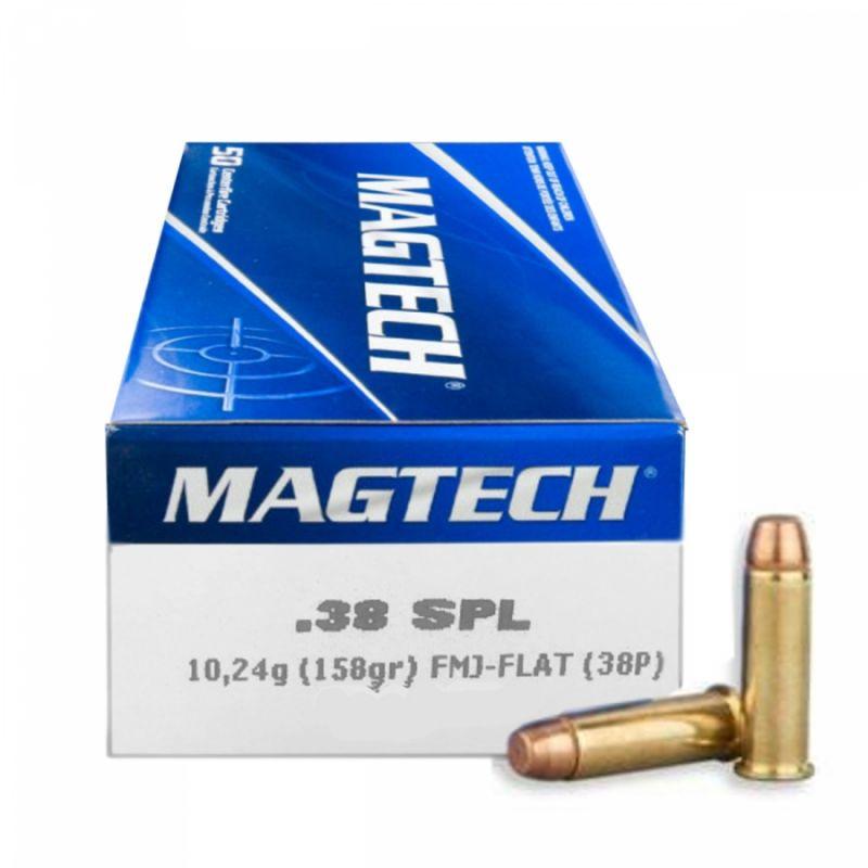 Náboj Nagtech 38 Special FMJ