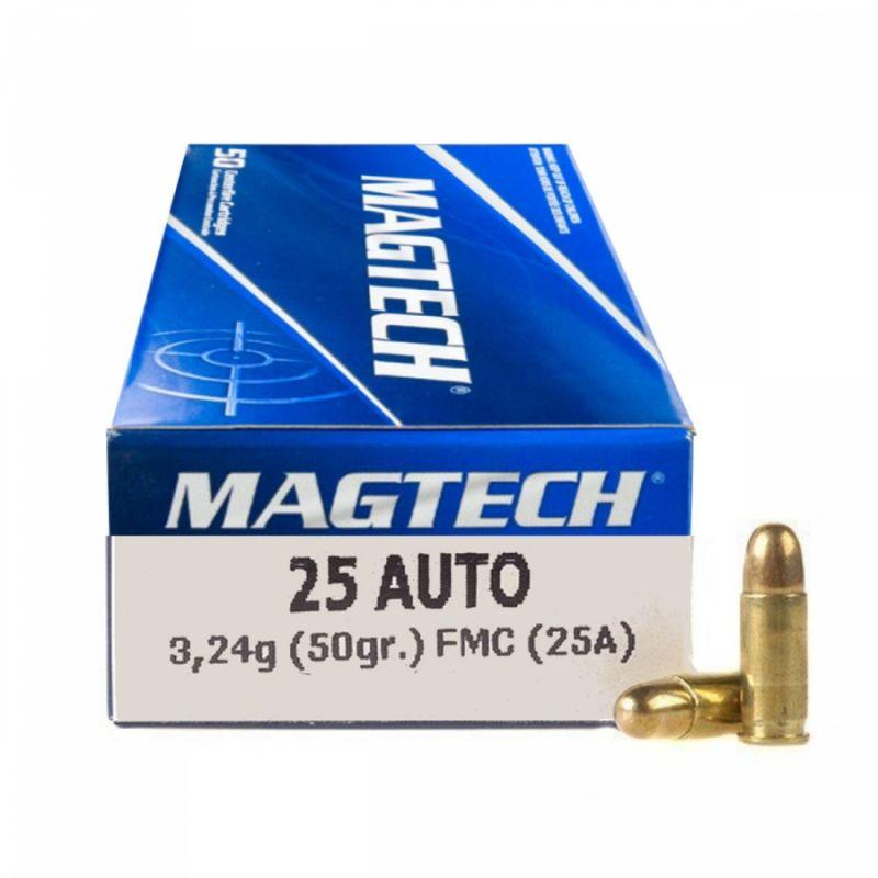 Náboj Magtech 6,35 Browning FMJ