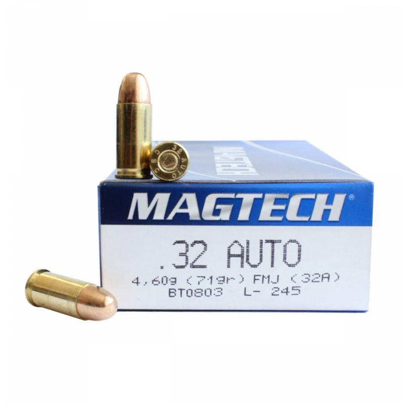 Náboj Magtech 7,65 Brow. FMJ