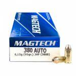 Magtech 9 Browning JHP 6,15 g