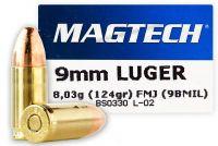 Magtech 9 mm Luger FMJ 8,03 g