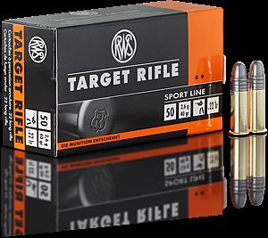 Malorážkový náboj RWS Target Rifle 22 LR