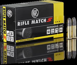 Malorážkový náboj RWS Rifle Match S 22 LR