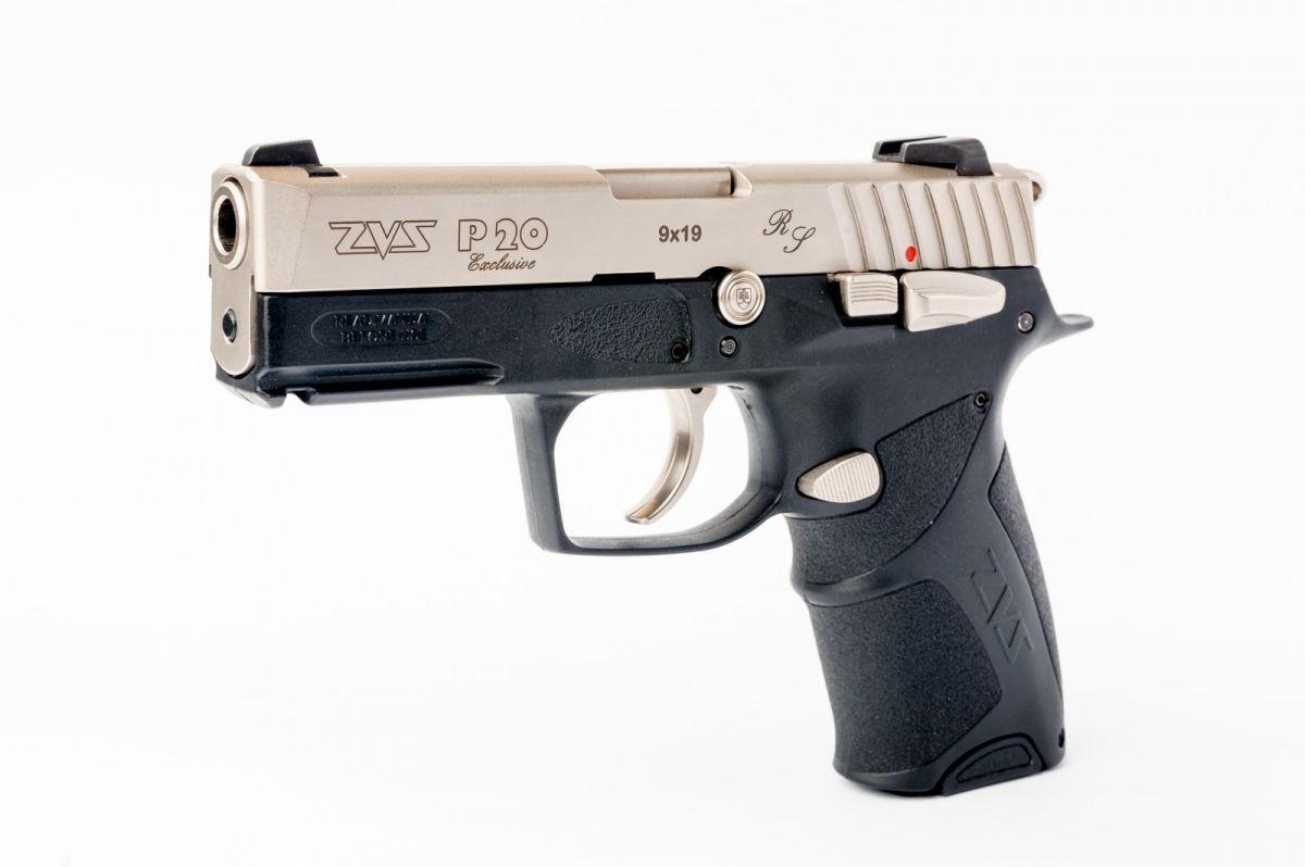 Pistole samonabíjecí ZVS P 20 Exclusive