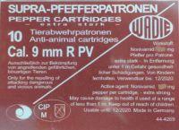 Náboj Wadie 9 mm R PV Supra Pepper