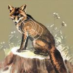 Terč mezinárodní redukovaný - liška