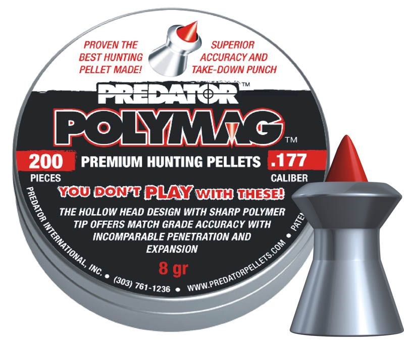 diabolky JSB polymag Predator 4,50