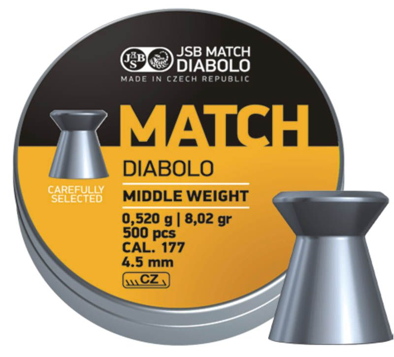 JSB Yellow Match Diabolo Middle Weight 4,51