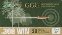 GGG .308 HPBT Sierra MatchKing 168gr