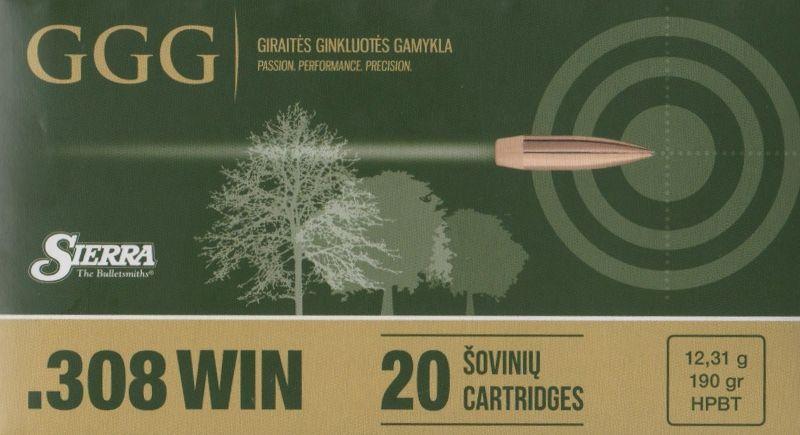 náboje GGG .308 Win